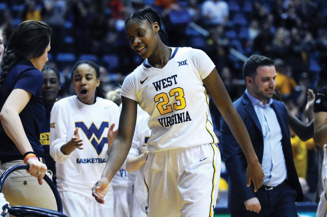 WVU's Bria Holmes
