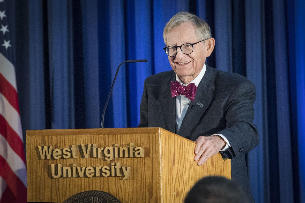 E. Gordon Gee WVU Today picture