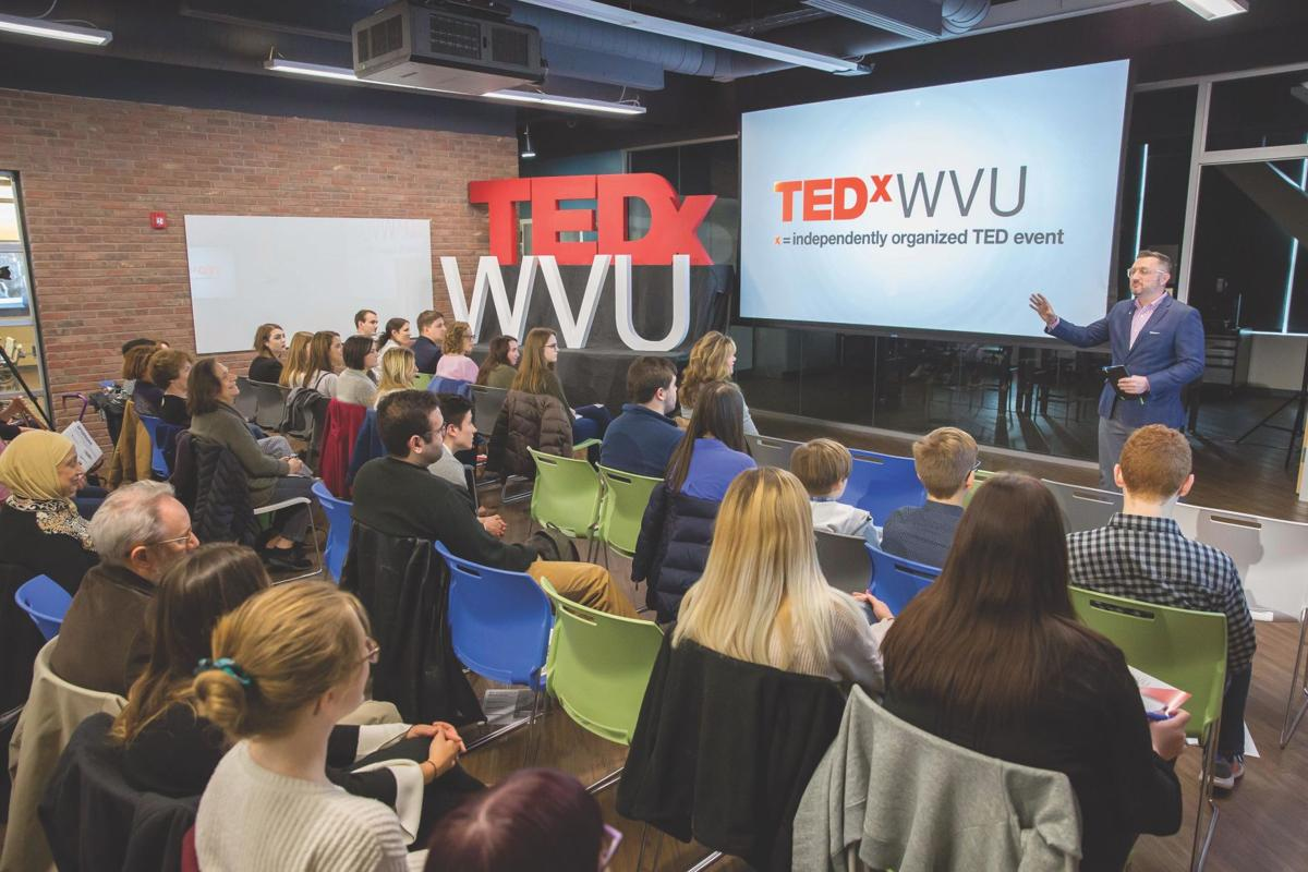 George cicci speaks at ted x wvu