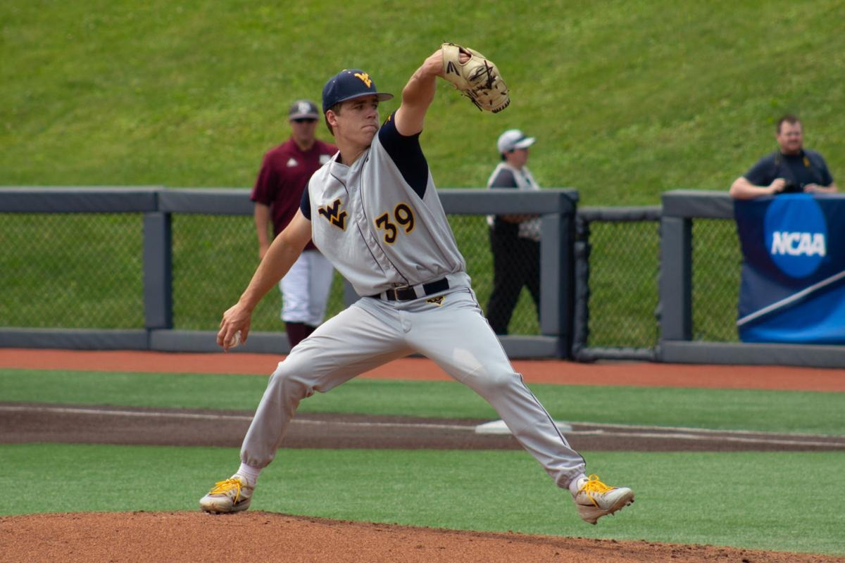 Ryan Bergert pitches against Texas A&M.
