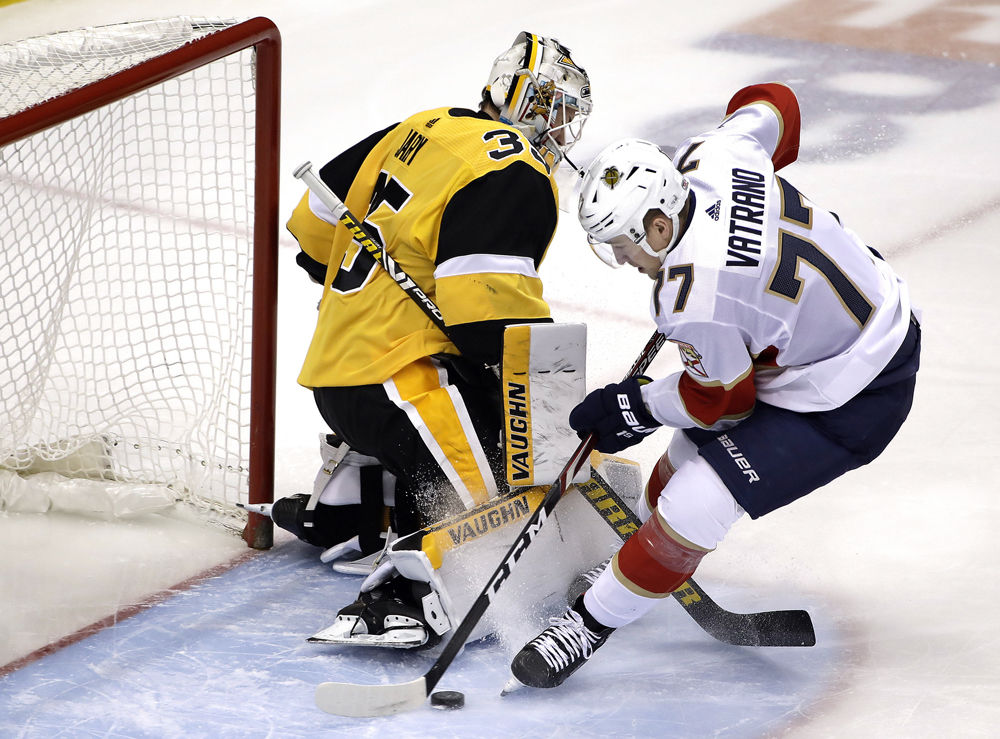 Panthers claw past Pens
