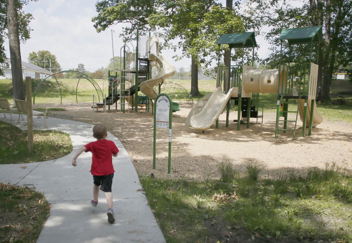 New look, new equipment at Emlenton playground