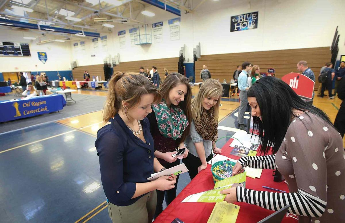 Oil City High School career fair offers students interview practice