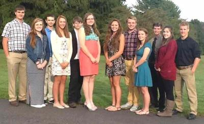 9e9f58e7524 Allegheny-Clarion Valley High School homecoming court