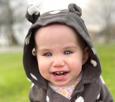 FIRST BIRTHDAY: Ryleigh Copley