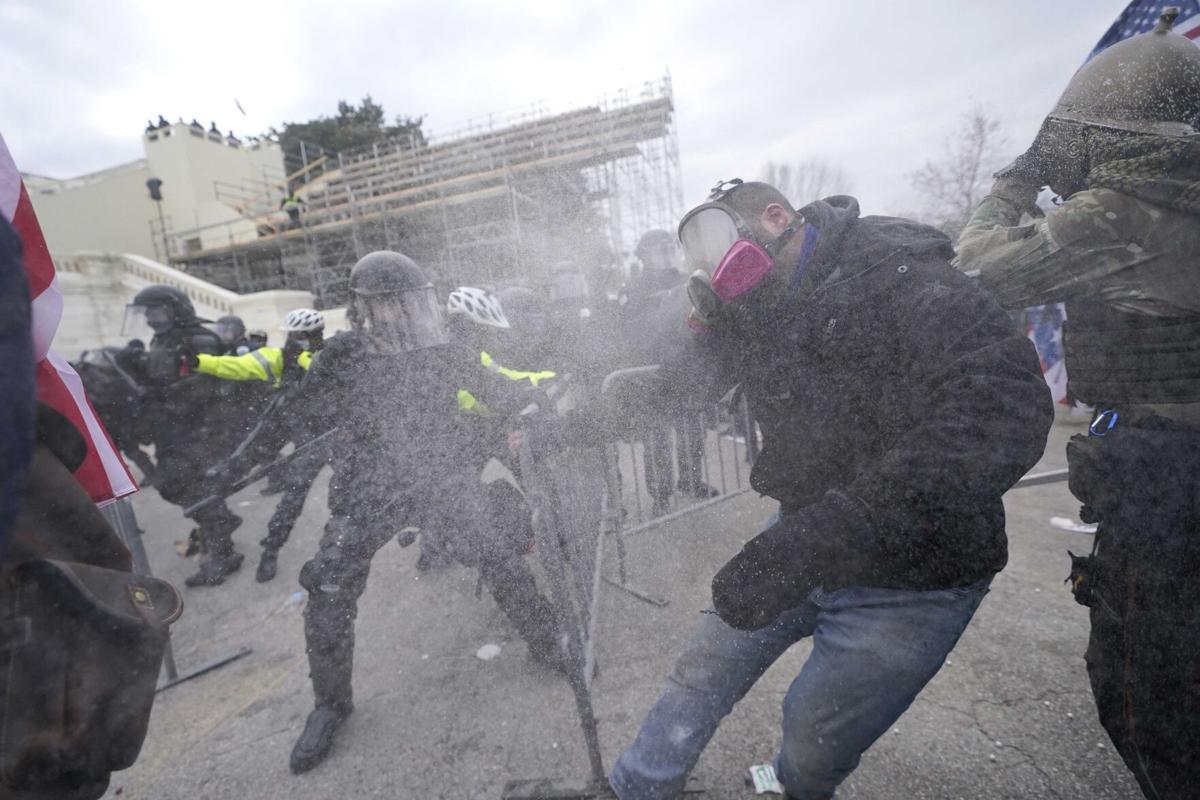 Violent protesters storm Congress