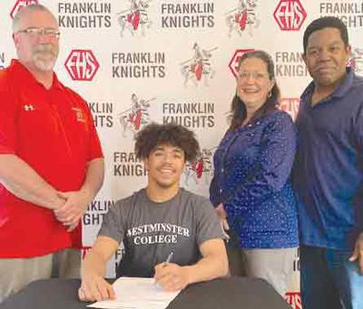 Knights' standout Stewart headed to Westminster