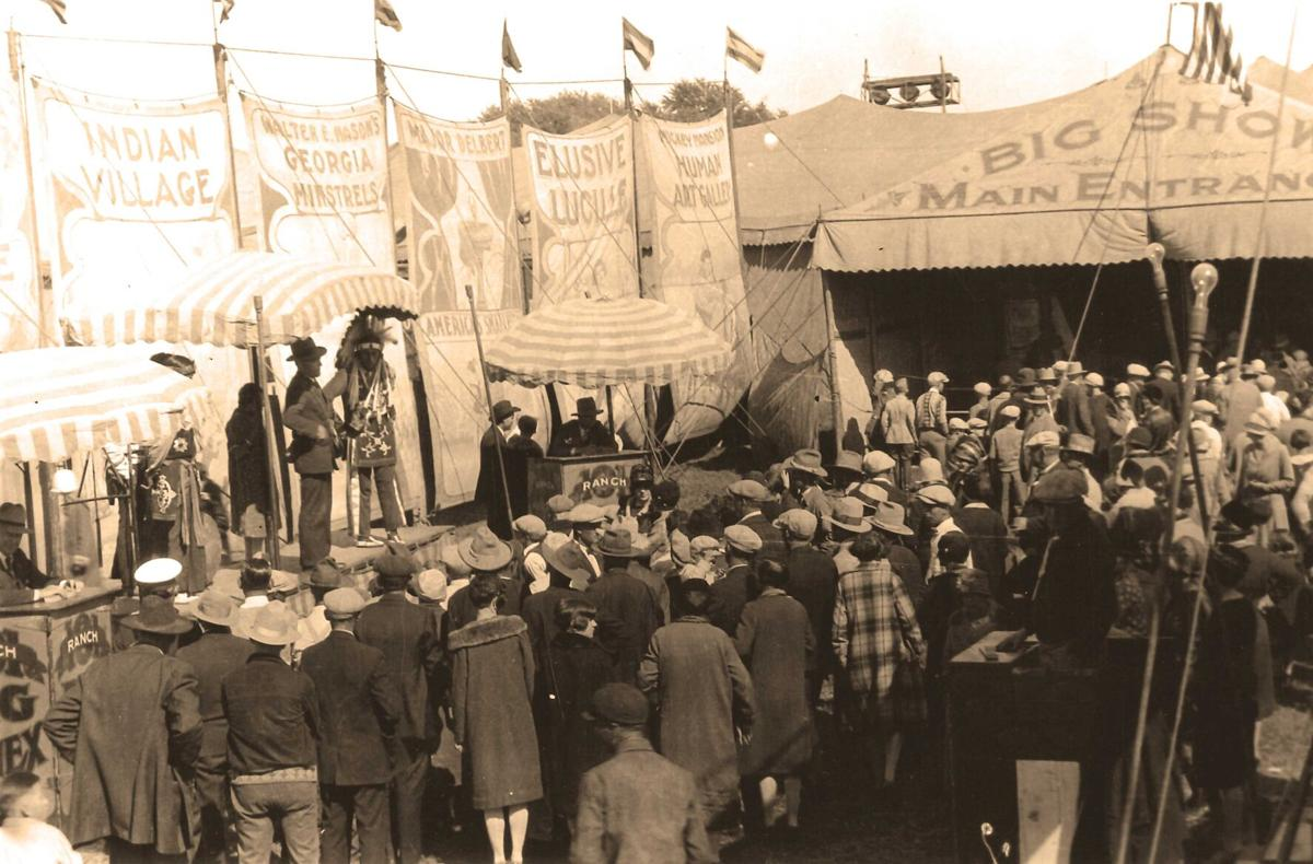 Local folks joined popular circus shows