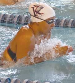 Former Knight Madi Matthews named swimmer of the week