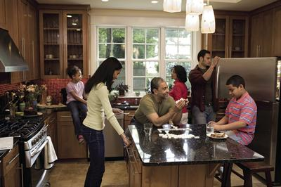 How families can comfortably share close quarters