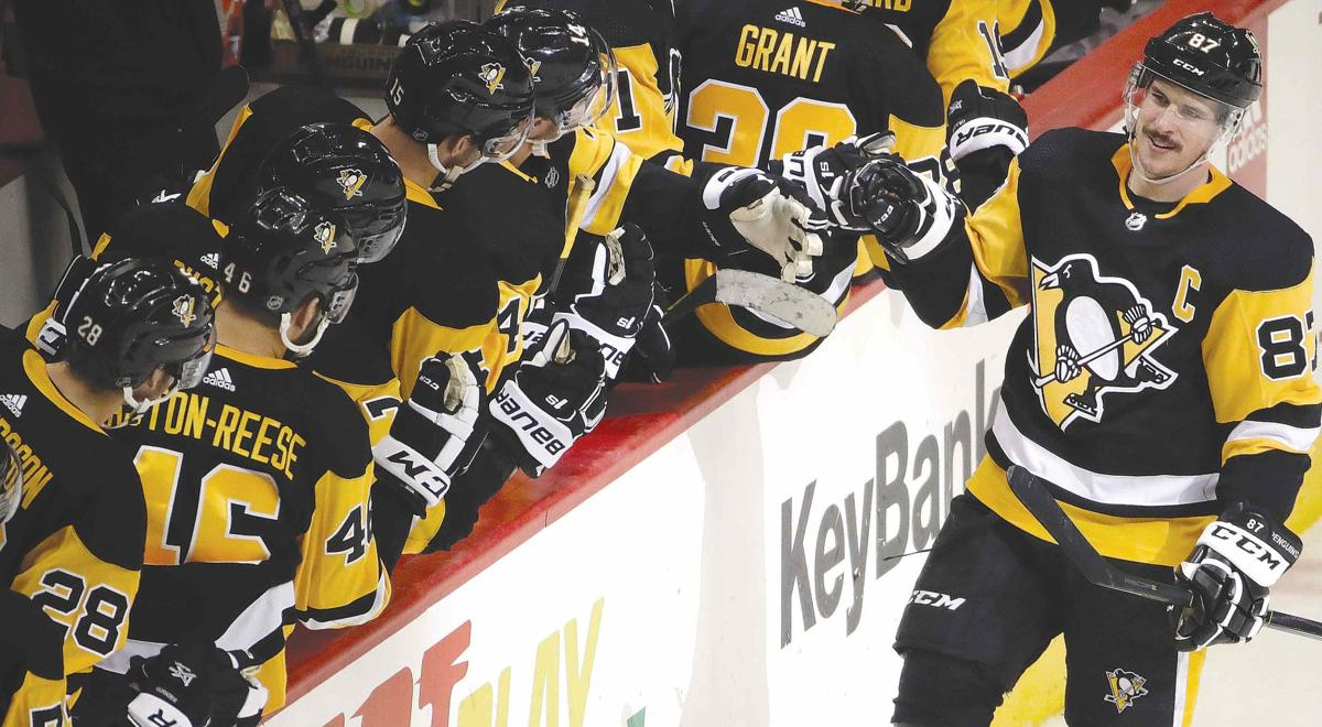 Kessel, Letang score two goals each in Penguins' 6-2 win