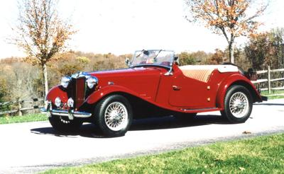 CLASSIC CARS: Owner restores 1952 MG TD that was found dismantled in a barn