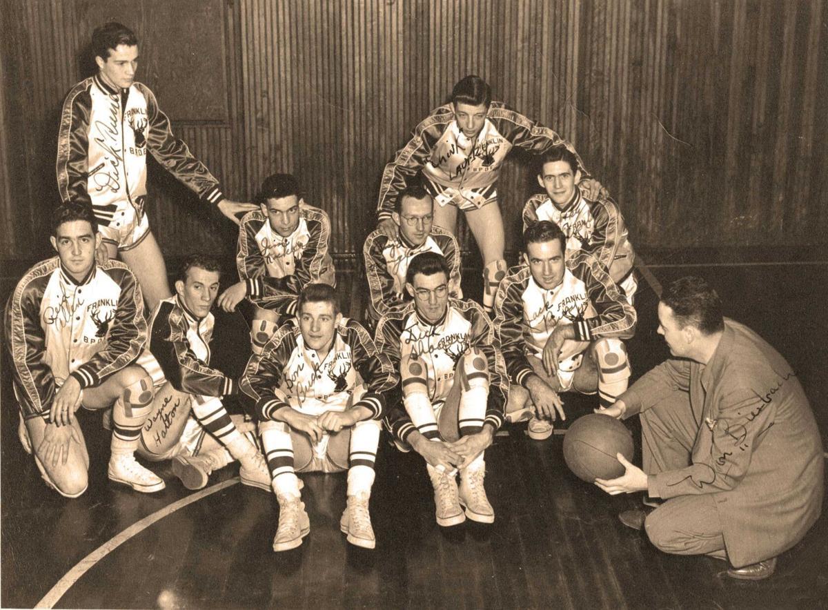 Out of the Archives: 1950s Franklin Elks hoops team