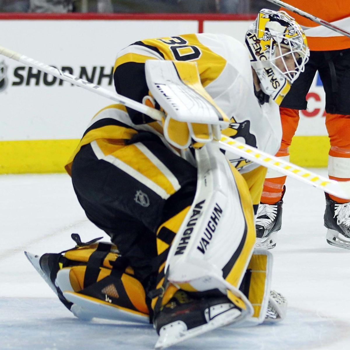 Penguins rout Flyers, 5-1