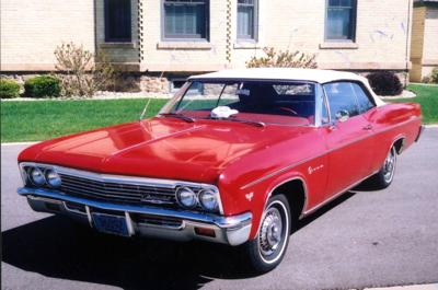 CLASSIC CARS: Restoration job keeps '66 Impala in the family, running like new