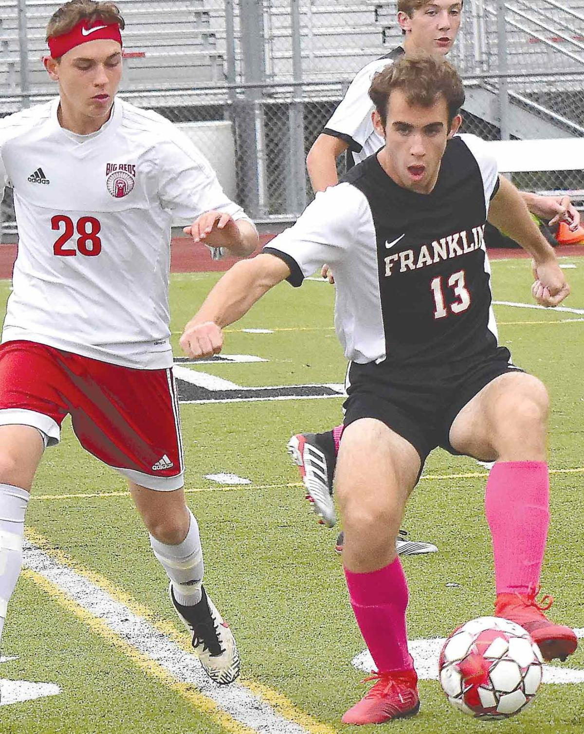 Haniwalt, Leccia lead FHS booters past Big Reds, 1-0