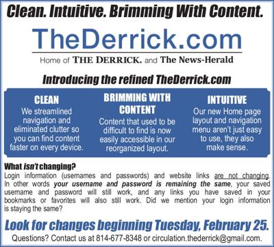 Changes to TheDerrick.com coming Tuesday