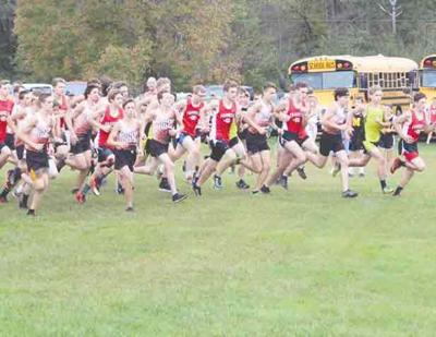 Vincent leads Oriole harriers to pair of wins