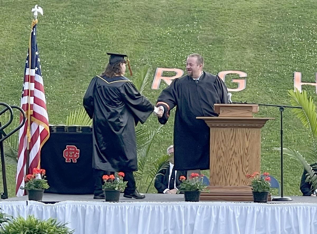 59 seniors receive diplomas at Rocky Grove graduation