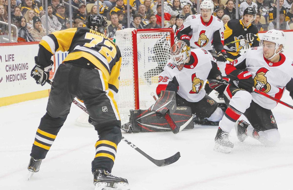 Penguins thump Senators
