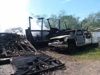 Local home destroyed by fire