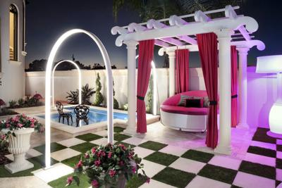 Outdoor spaces come with style and personality