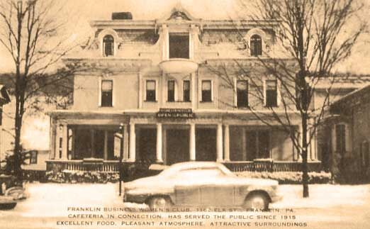 Out of the Archives: Franklin had business women's club