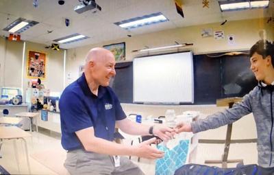 Student's 'heartfelt gift' colors his teacher's world