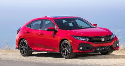 Road Test 2017 Honda Civic Hatch Combines Style Versatility
