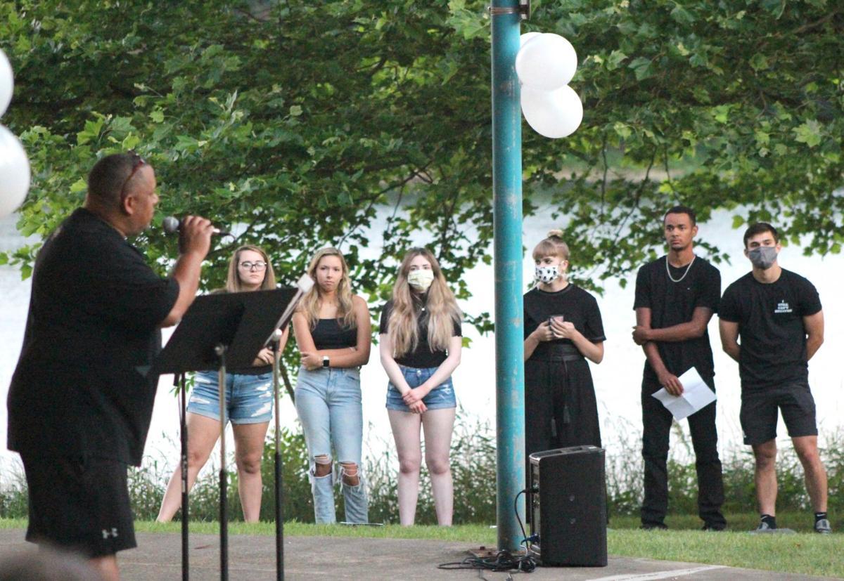 Vigil focuses on faith
