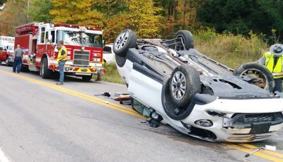 Woman hurt in Halyday Run crash