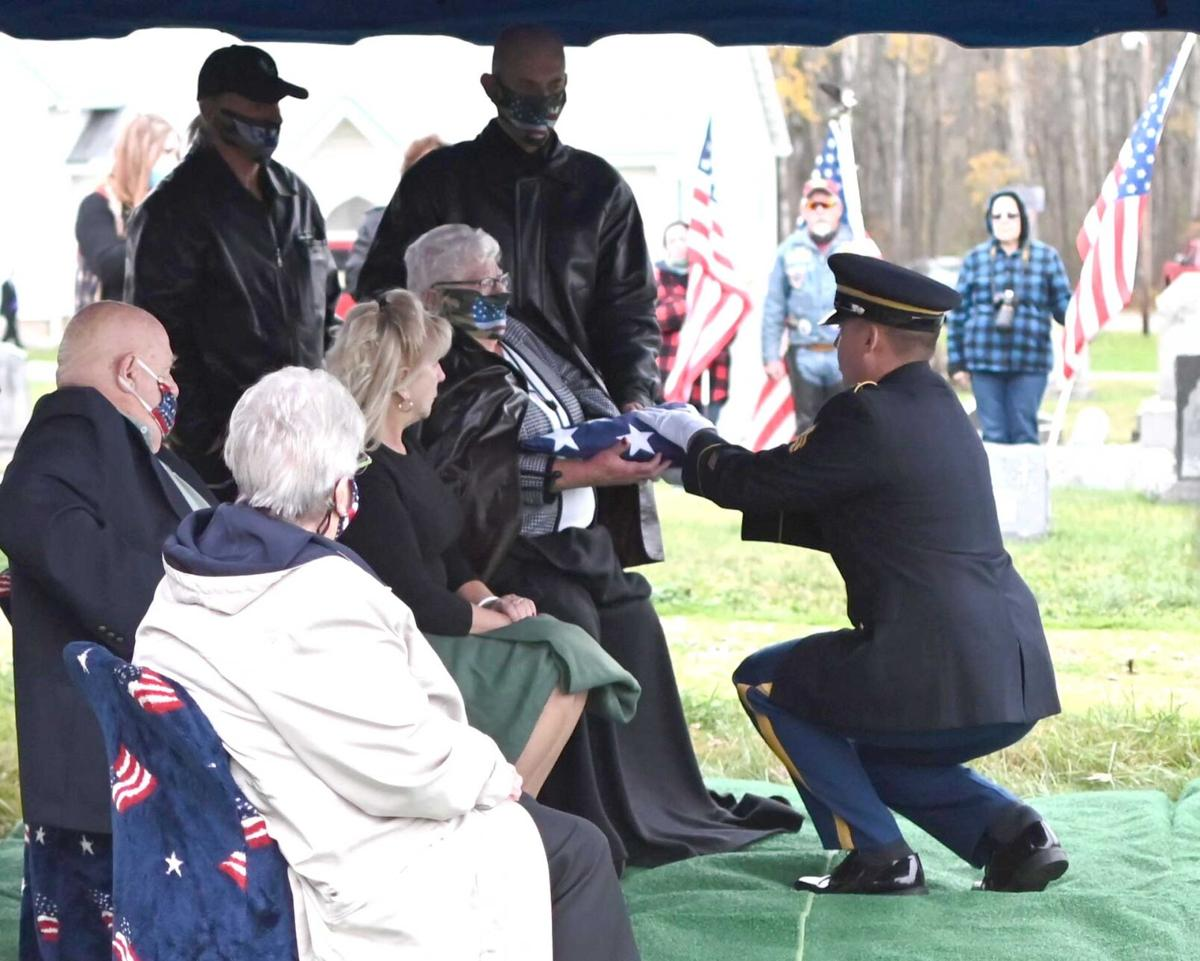 Vet finally laid to rest