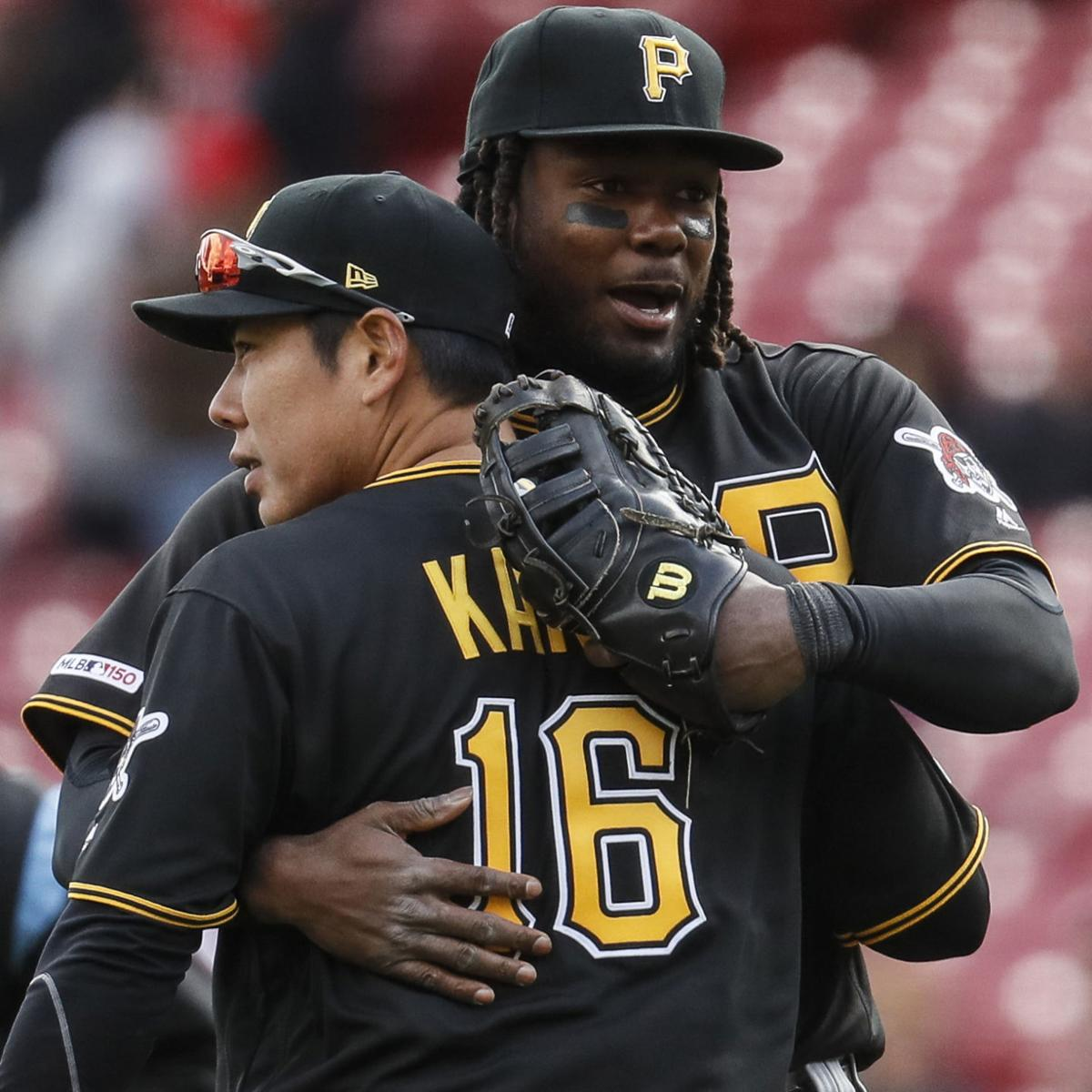 Pirates notch first win