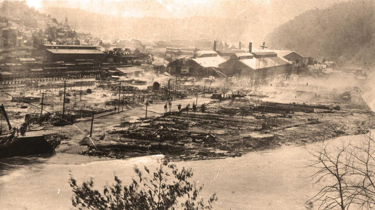 Great Fire and Flood cut swath of devastation