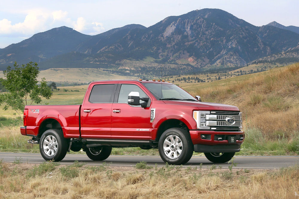 road test ford f 250 pickup has new levels of superiority rh thederrick com