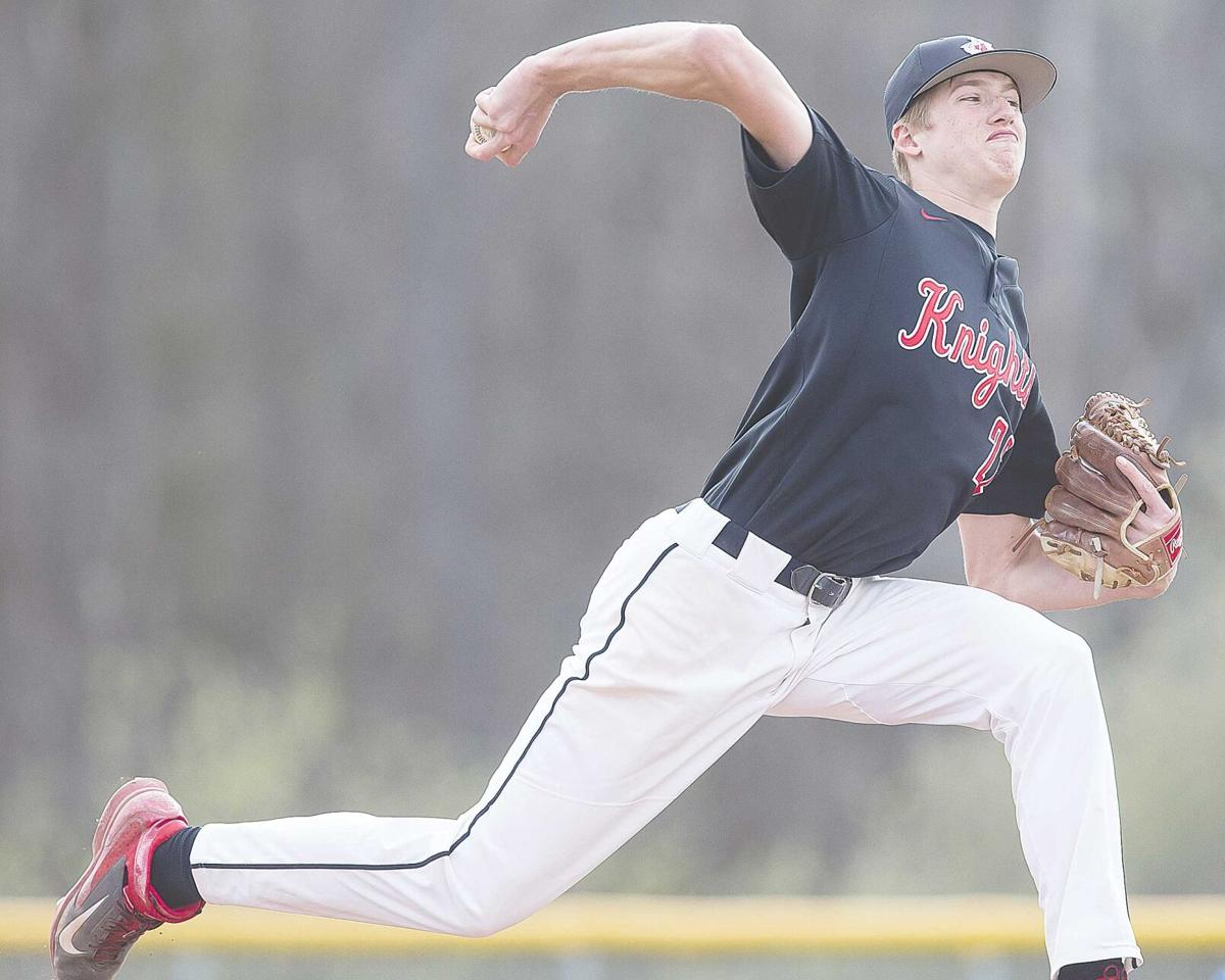 Boland, Wimer combine on no-hitter in 11-1 romp