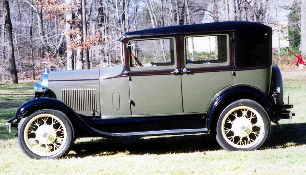 CLASSIC CARS Four Door 1928 Model A Ford Makes Toting Family Around Easy