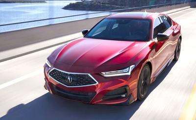 2021 Acura TLX rides new platform to success