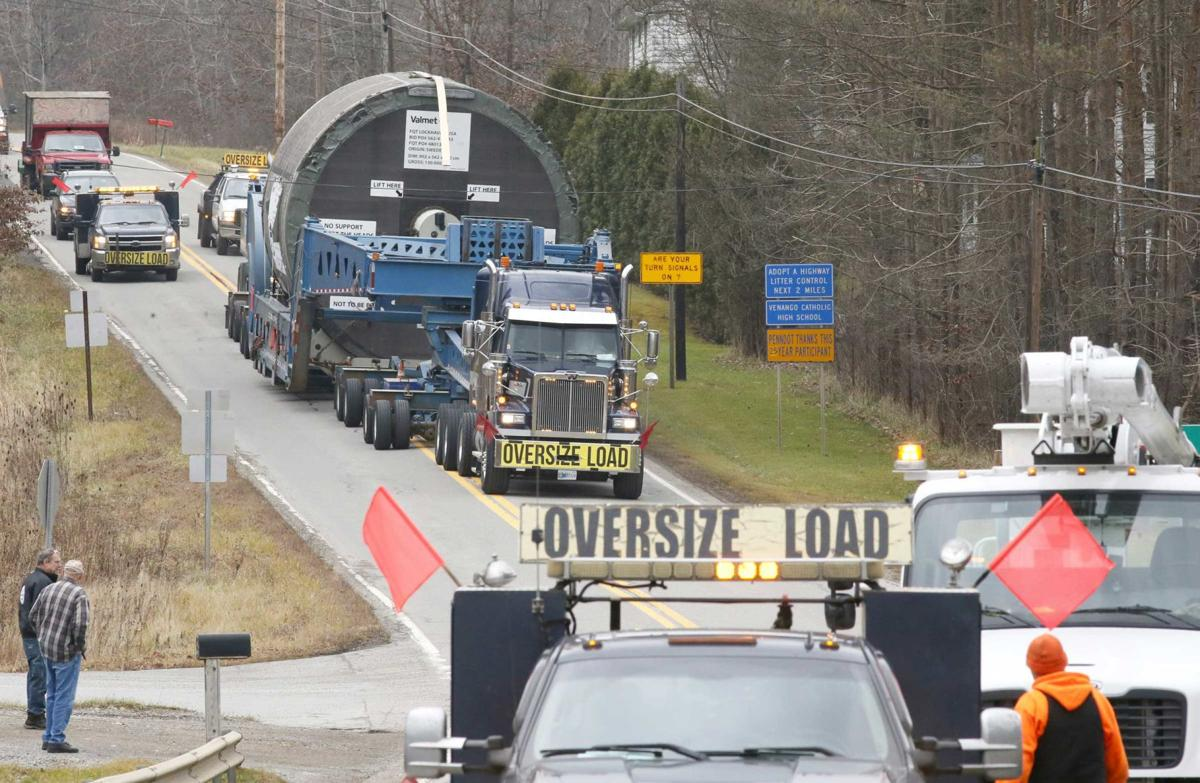 There's quite a story behind long journey of super load
