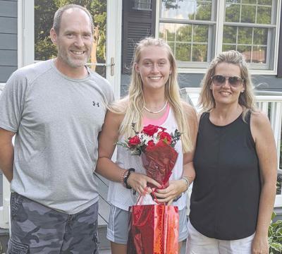Franklin softball honors lone senior
