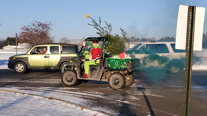 The Grinch is at it again!