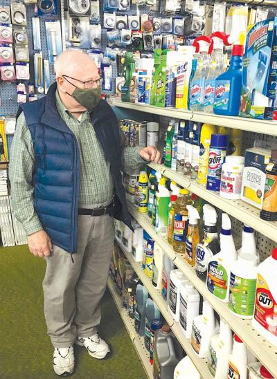 Owner, 89, reopens longtime Clarion hardware store