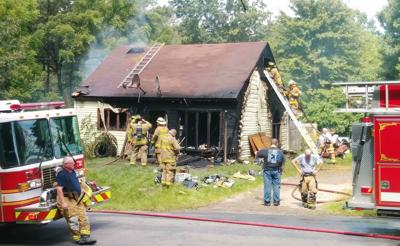 Fire sends one to hospital