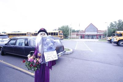 Surprise for Cranberry student on last day