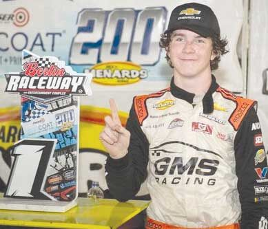 Dye records first win on ARCA circuit