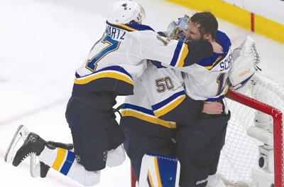 Blues win first-ever Stanley Cup