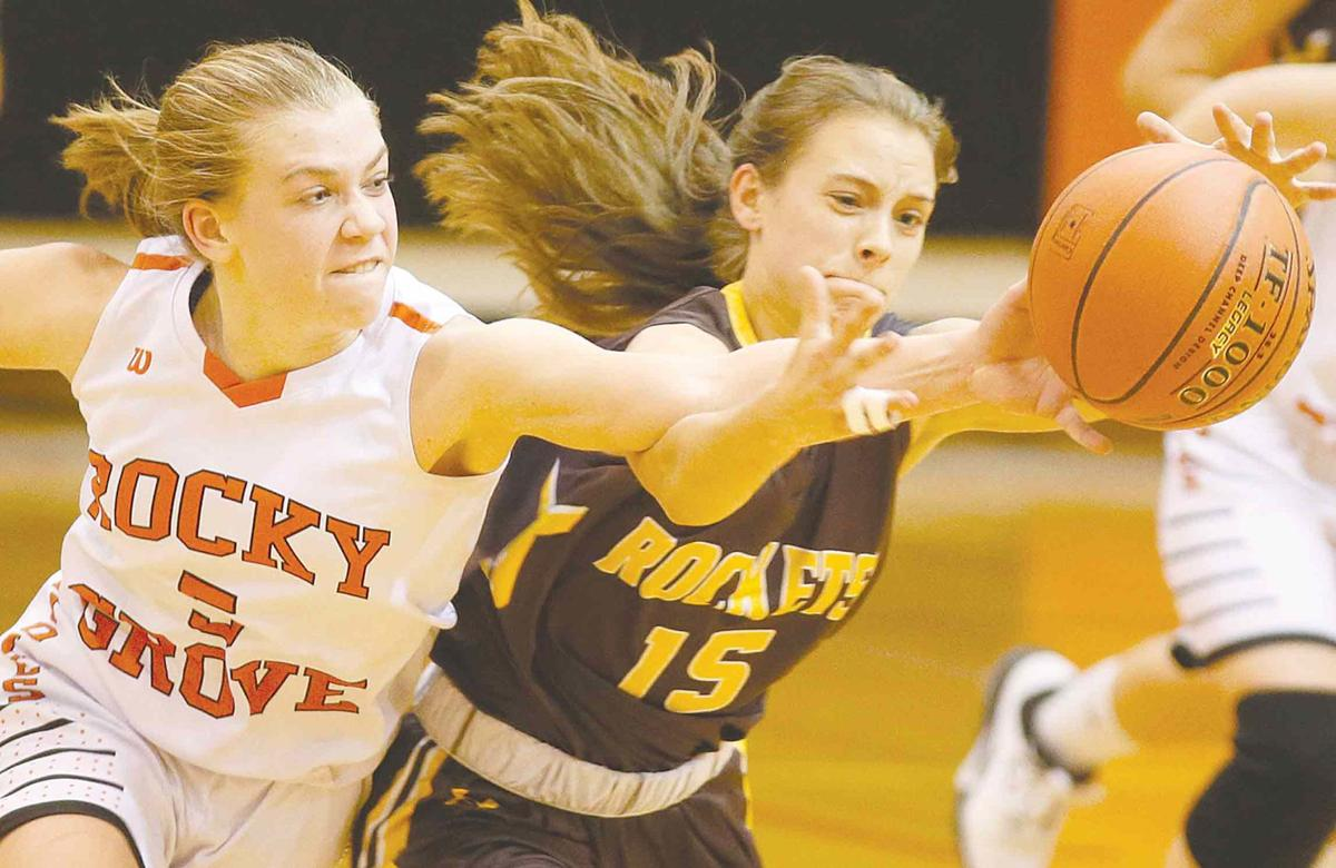 Rockets rally past Grove girls in 2nd half