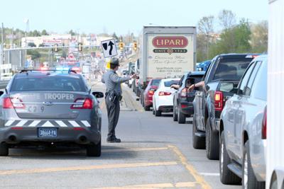 Bridge standoff forces I-80 closure