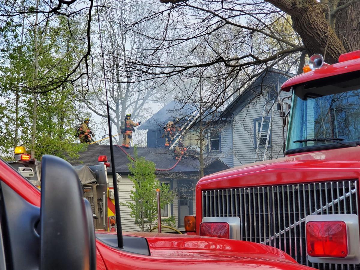 Pleasantville Fire 5-8-19