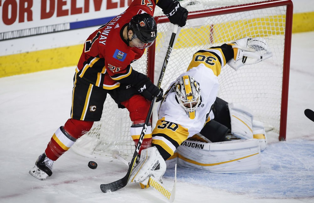Pens snuff out Flames